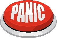 Red button marked 'panic'
